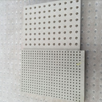 Drywall Sound Absorbing Perforated Gypsum Ceiling Board