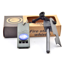 outdoor camping survival magnesium flint stone fire starter wholesale