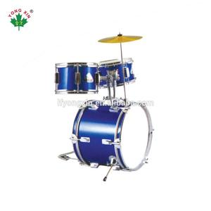 Hot Sale cheap prices children Junior Mini professional acoustic jazz wood drumset Drum kit Set With Stand Cymbal