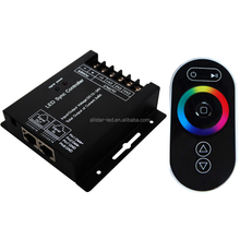 High quality DC 12-24V RGB Touch Led Sync Controller RF Touch Remote, RGB Remote Controller for RGB LED Strips