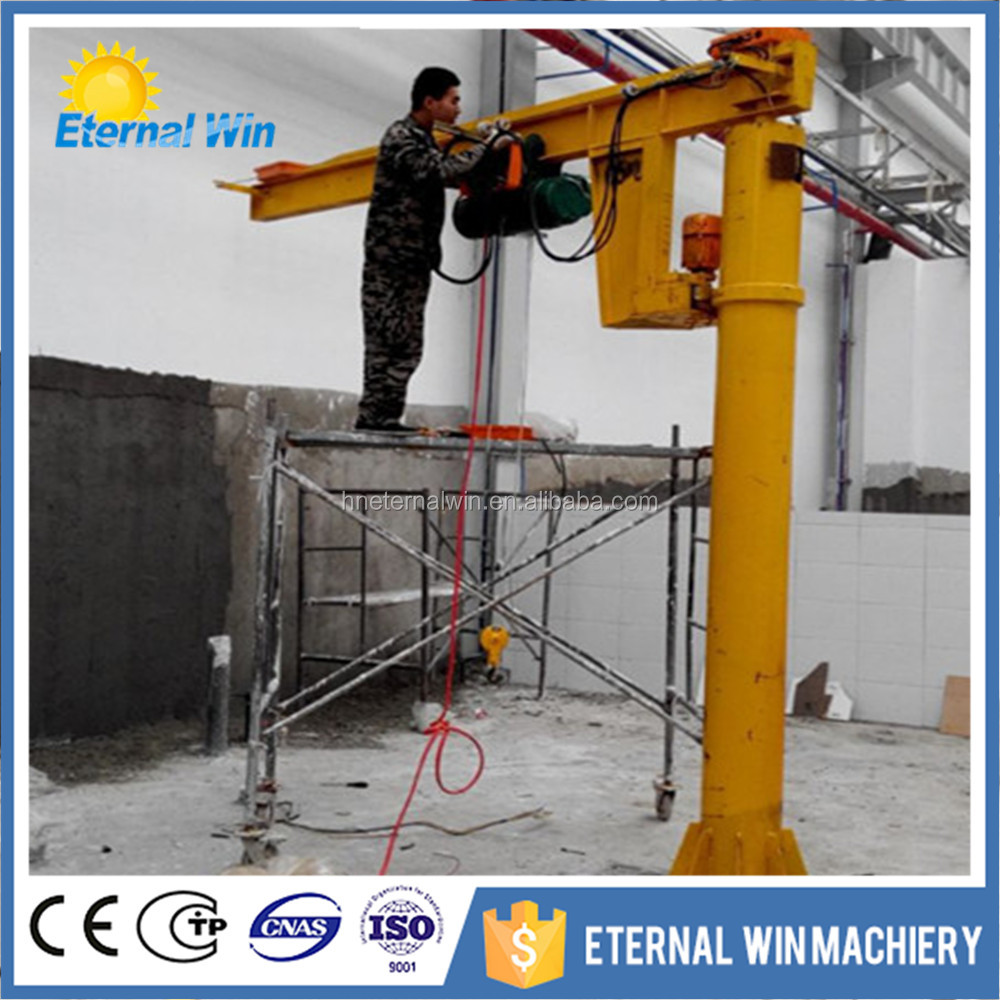 Small 5 ton forklift jib crane attachment