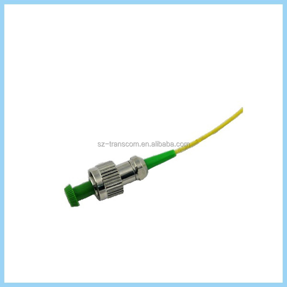 Pigtail to FC APC, 2.9 mm legs, Single and Multi mode, fiber optic patch cord