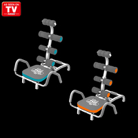 New Home Fitness Exerciser Ab Chair Trainer Ab Zone Flex seen On TV