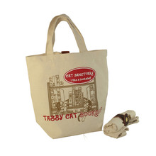 Eco-Friendly Resuable Large Canvas DIY Shopping Tote Bags