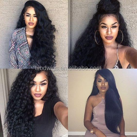 Longxinbaodian wigs human hair,Free sample products full lace human hair wig 24 inches, high grade full lace wig with baby hair