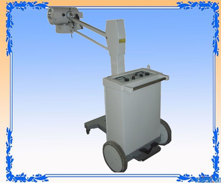 mobile medical radiography x ray machine 100mA SF100BY CE (Shanghai Manufacturer)