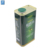 1l customized square edible olive oil metal can