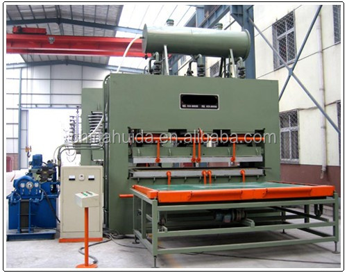 melamine laminating short cycle hot press/hydraulic hot press machine