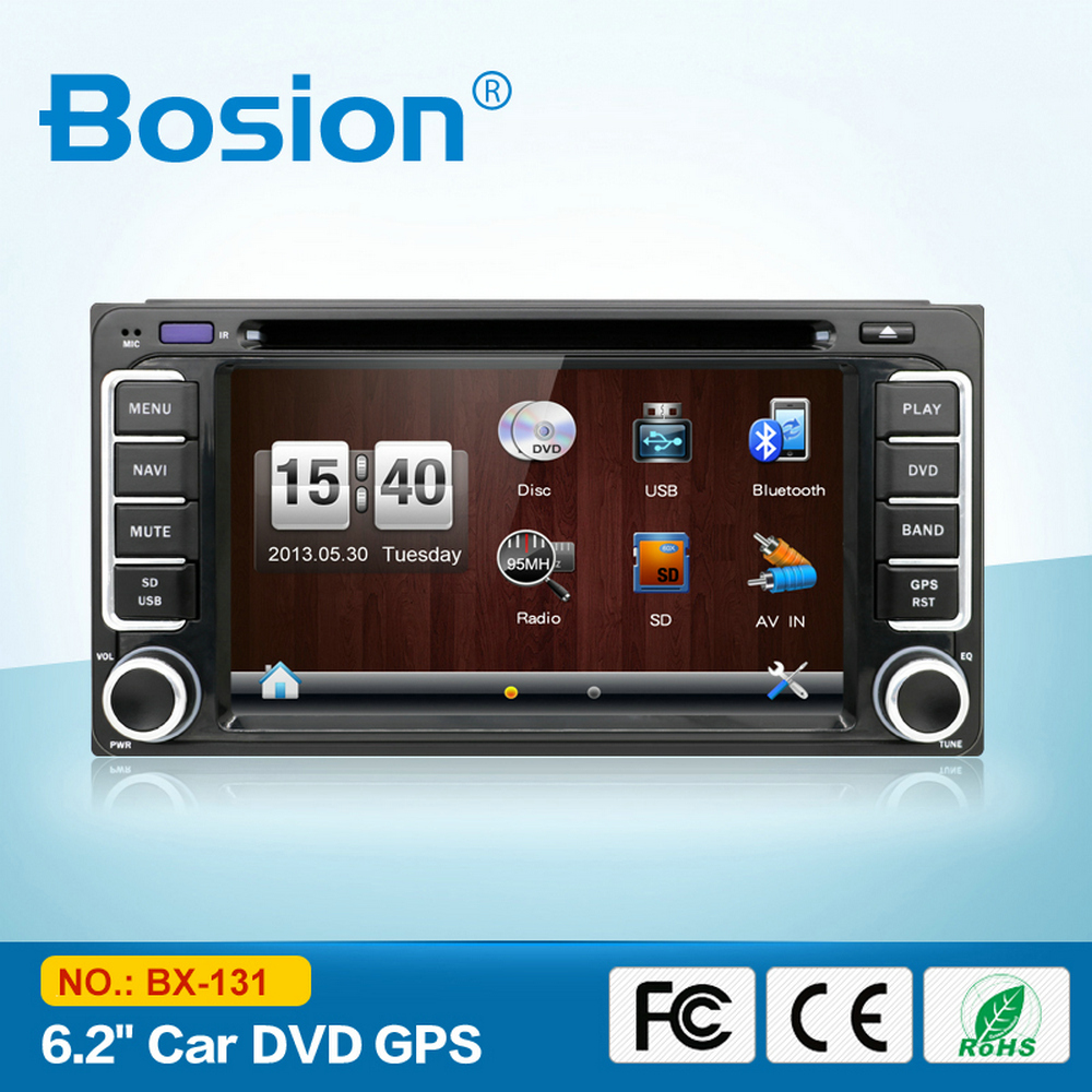 1080P Capacitive Touch Screen Car DVD for TOYOTA Prado 2014 with 3G/WIFI/iPod/ TV