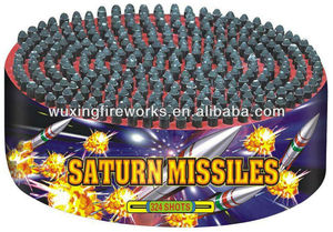 324shots Explosive Saturn Missiles Firework/HOT SALE FOR PARTY