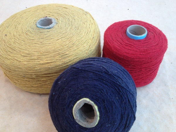 China supplier manufacture high grade recycled hemp yarn wholesale