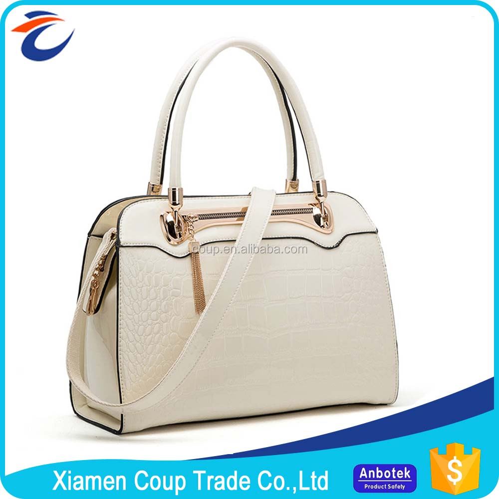 China Manufacturers Famous Designer Cheap Custom Logos Woman Ladies Pu Leather Handbag Branded Handbag