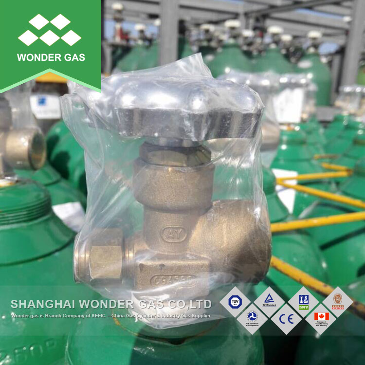 Low Price 23.6L Co2/Oxygen/Argon High Pressure Gas Cylinders for Sale