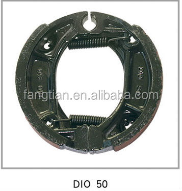 DIO 50 Motorcycle Front and Rear Brake Drum Shoes