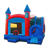 Customized 5 in 1 bounce slide , cheap bouncy bounce house slide prices