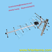 470-860MHz 7dBi 7elements yagi outdoor digital TV antenna Yagi antenna