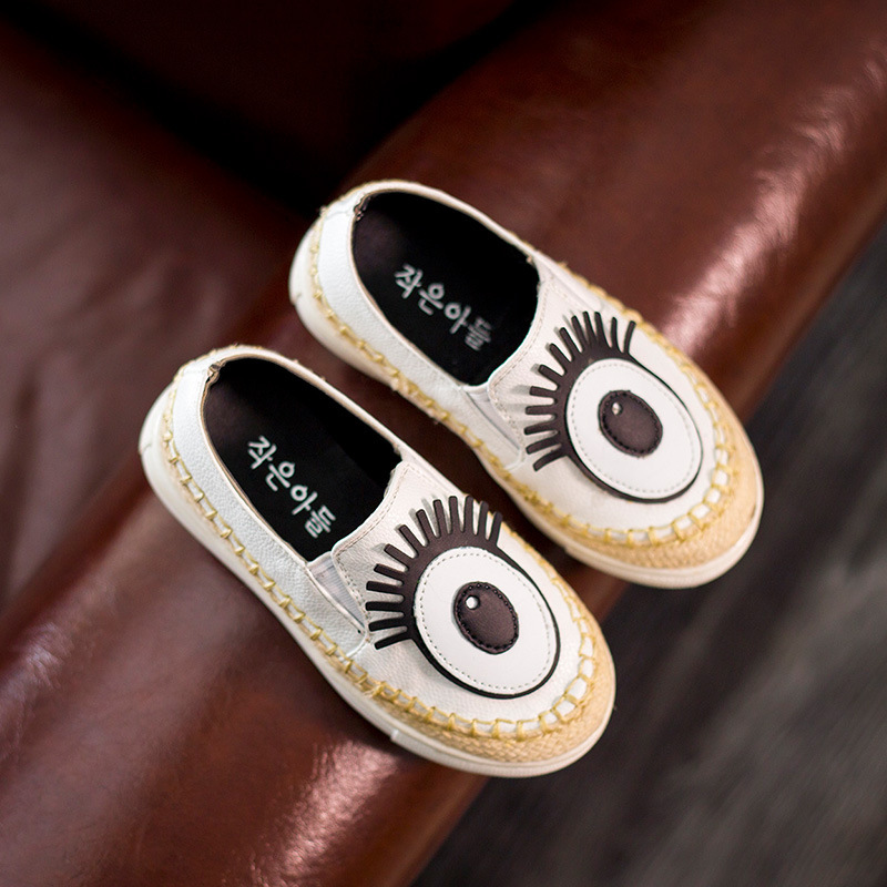 Kids Shoes Boys Girls 2016 New Eyes Cartoon Children Shoes for Girls Boys Casual Shoes Chaussure Enfant
