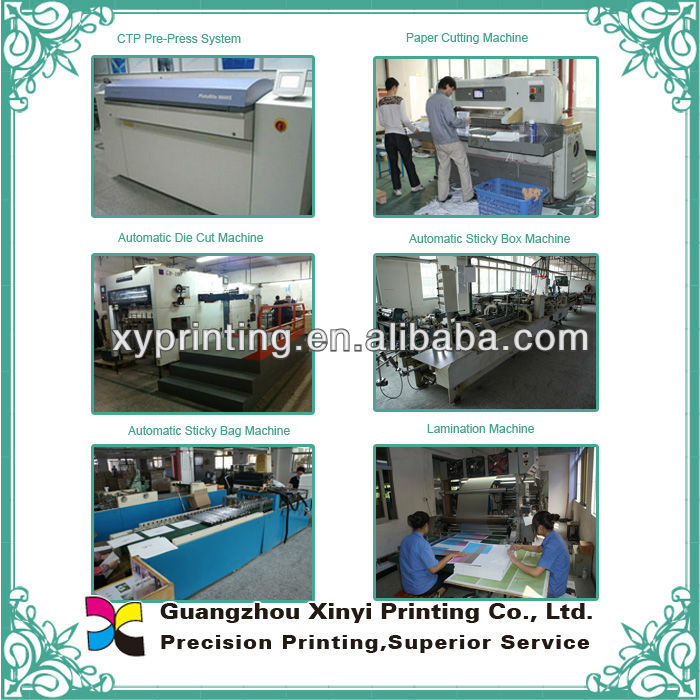 A4/a5/a6 notebook afdrukken 2013 aangepaste kraftpapier making machine leverancier in china met