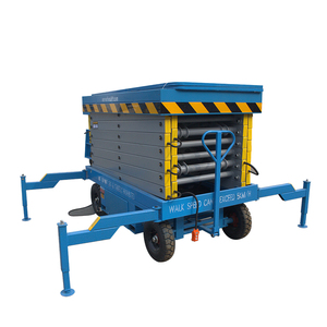 500kg loading capacity mobile hydraulic elevated work platform