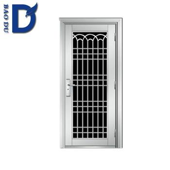 Burglar Proof Designs Stainless Steel Door Exterior