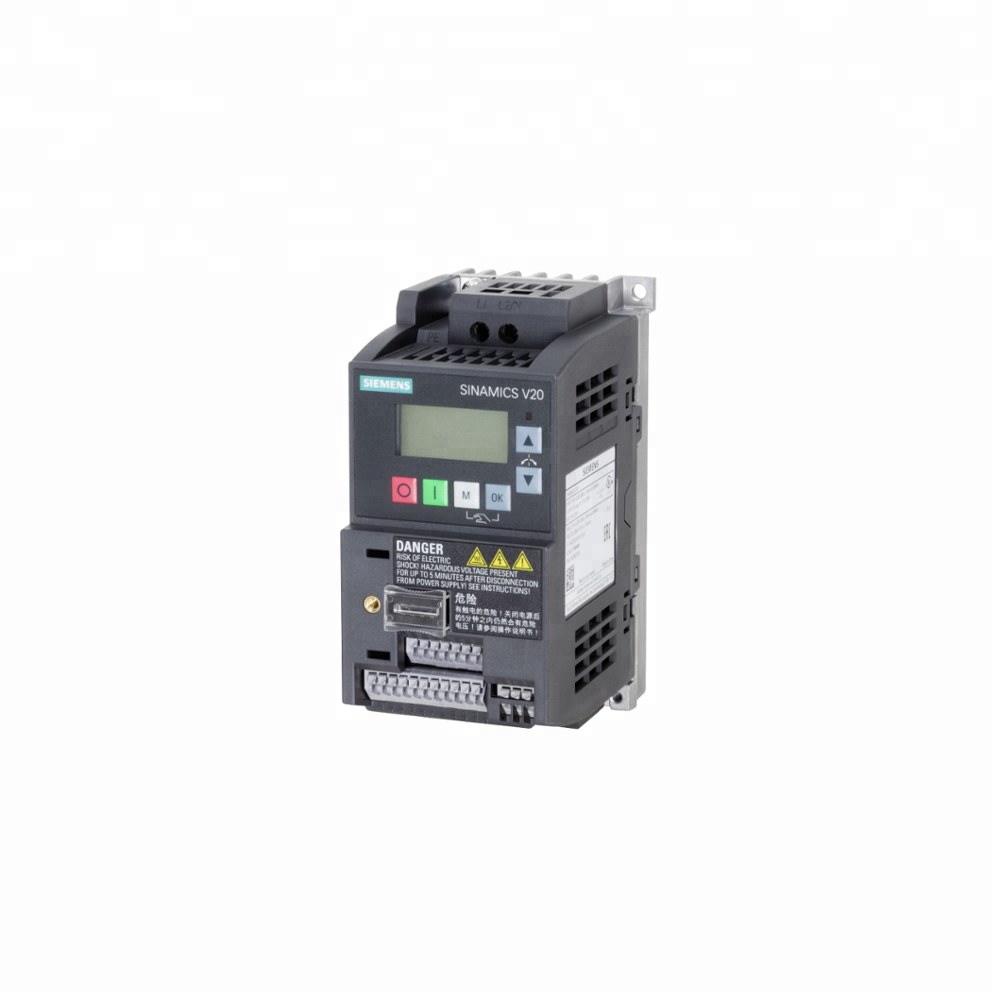 New original Siemens SINAMICS V20 Basic converter inverter 6SL3210-5BB11-2BV1 0.12KW from www.pekwell-cnc.com