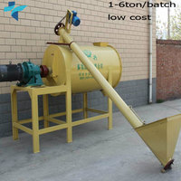 China Manufacturer Ribbon Premix Fine Sand Mortar Dry Cement Powder Mixer