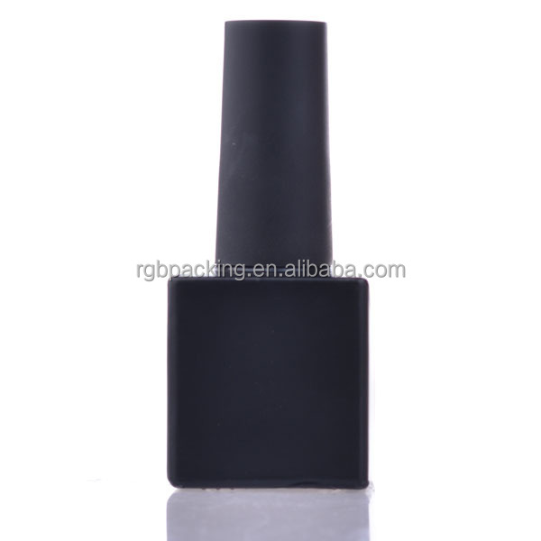 10ml uv Nail Polish Bottles 2015 popular wholesale Unique Shaped Glass Packing