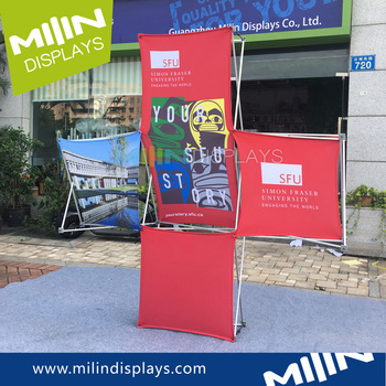 Cost Effective Banner Portable Pop Up Displays Stand Cases