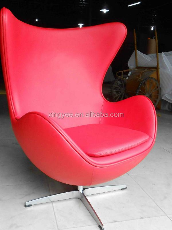 Modern Living Room Genuine Leather