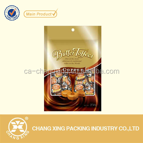 Brazilian coffee flavored candy packaging bag