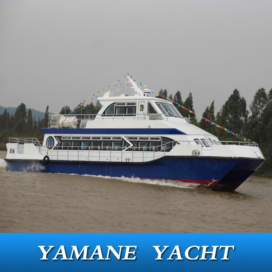 speed catamaran fiberglass passenger ferry boat for sale
