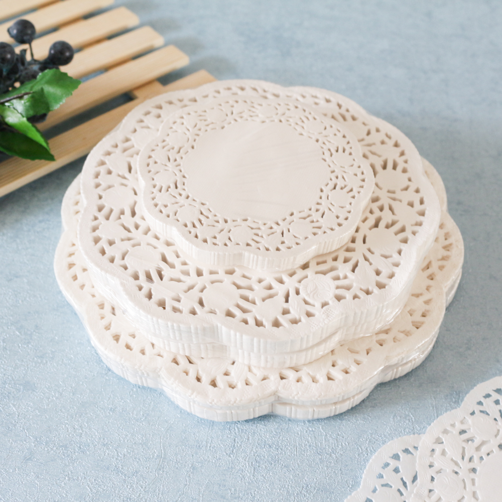 Custom oil-Absorbing Sheets cooking oil filter paper/ Disposable paper doilies