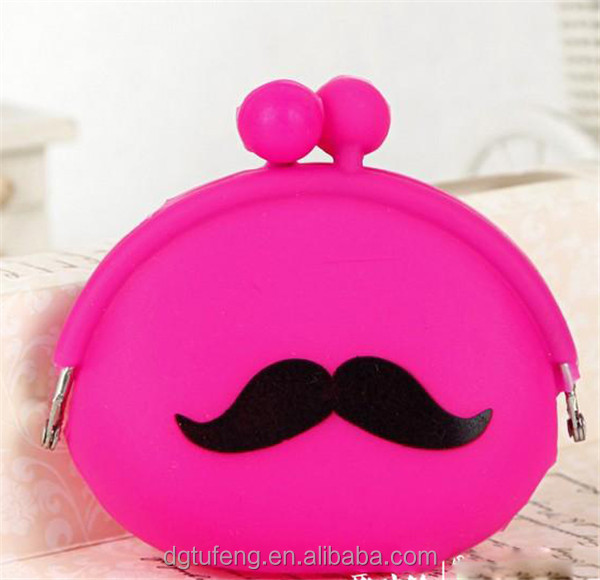 multifunctional OEM/ODM accepted silicone cute wallet