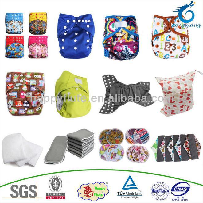 Happy Flute 2017 Baby Reusable Cloth Diaper Wholesale Organic One ...