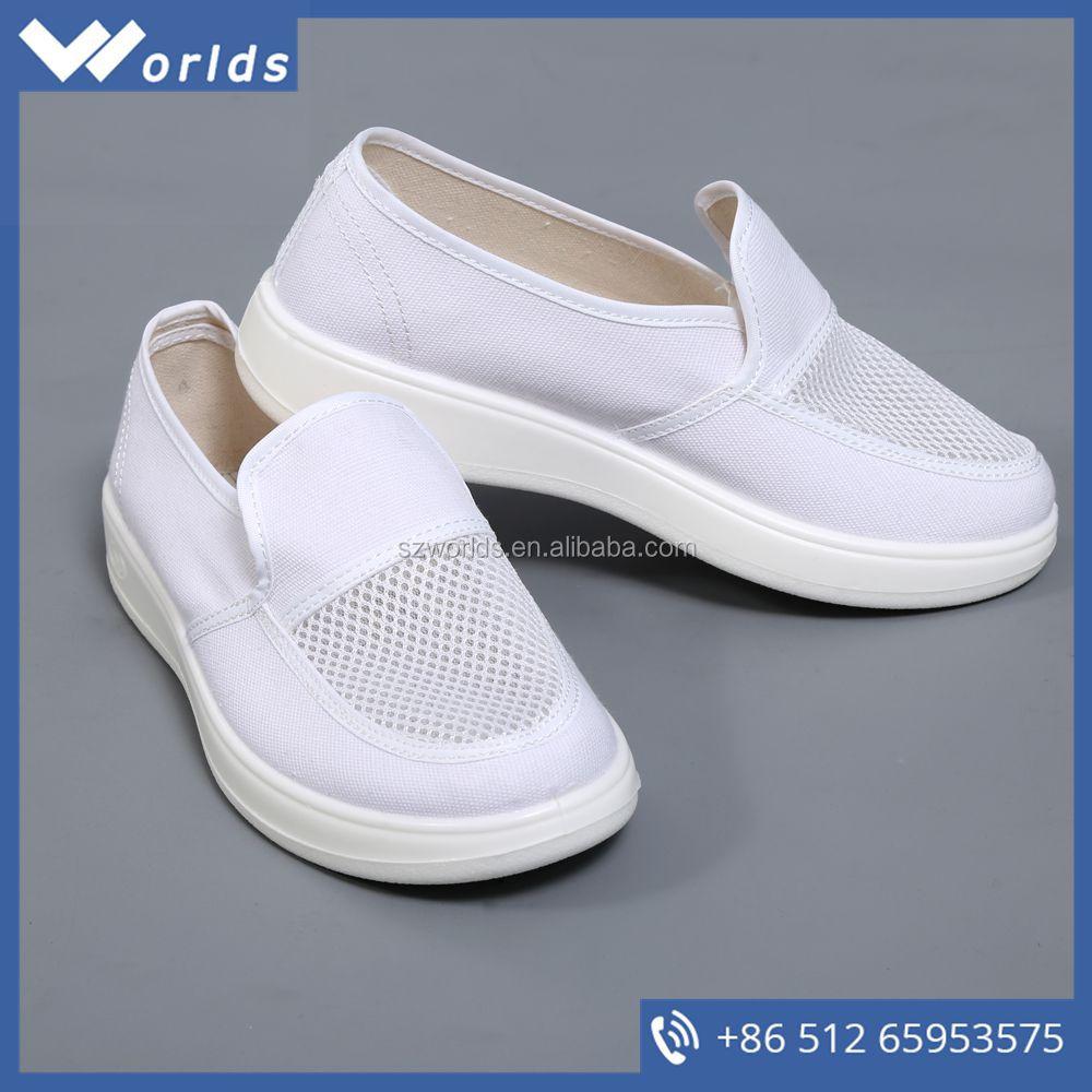 Антистатические Cleanroom холст обувь для женщин Другая обувь