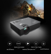 UNIC UC46 High quality Full HD 1080P Home Cinema Theater&Laptop 1200Lumens LED Wireless WIFI Mini Pocket digital Projector