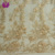 2018 new fashion gold lace 3d embroidered lace fabric for dress