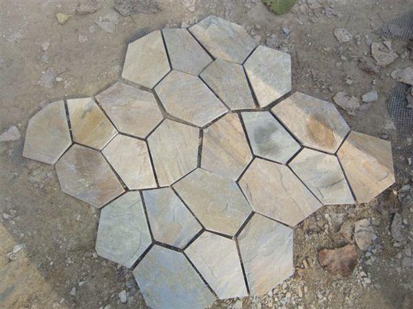 Cheap Decorative Outdoor Slate Garden Stepping Stones