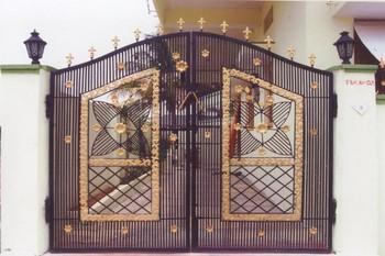 Charming Indian Beautiful Modern House Entrance Main Iron Gate Designs