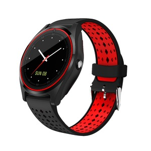 Best quality sport new fashion touch screen smartwatch support SIM card MP3 Camera V9 smart watch
