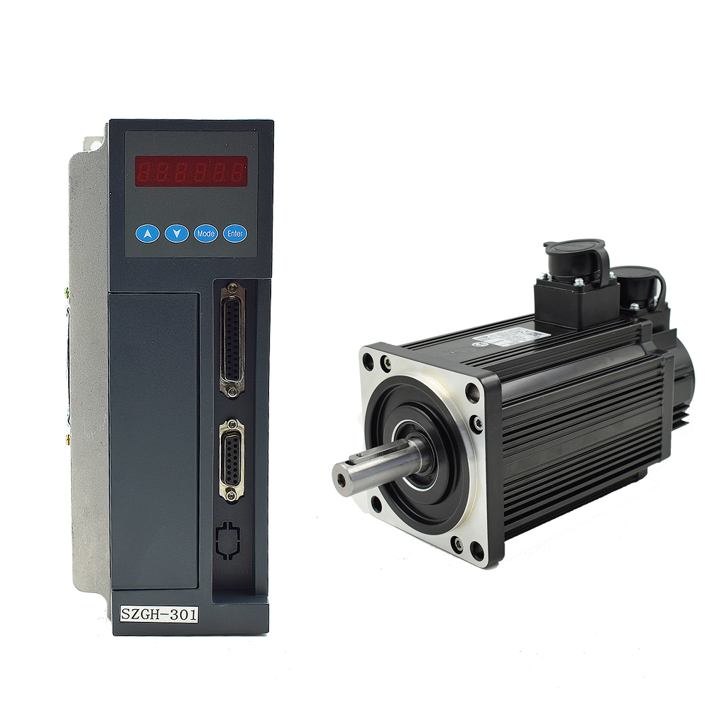 220v 600w industrial sewing machine linear servo motor+ driver