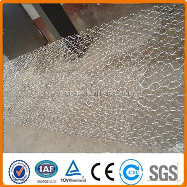 Anping factory supply Gabion box /stone cage for retaining wall
