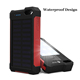 Waterproof Solar Power Bank Shockproof Solar Charger New Portable Solar Power Charger Factory Wholesale