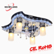 2017 sales leading modern ceiling lamp with remote control