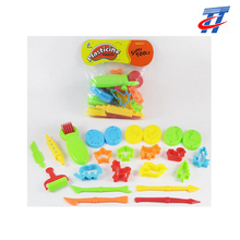 Children play dough tool set clay mould toys