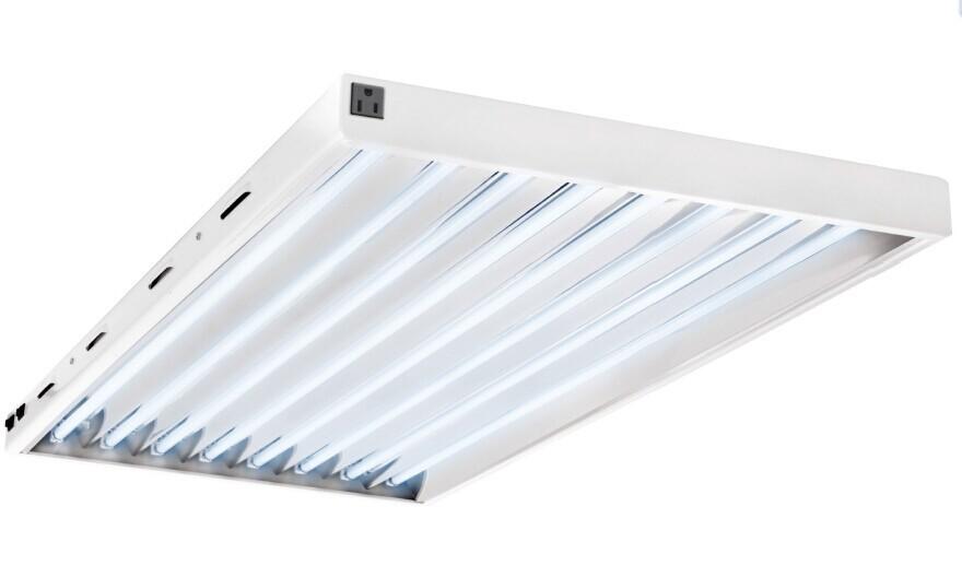 Hanging Aluminium T5 Ho Fluorescent Grow Light Reflector