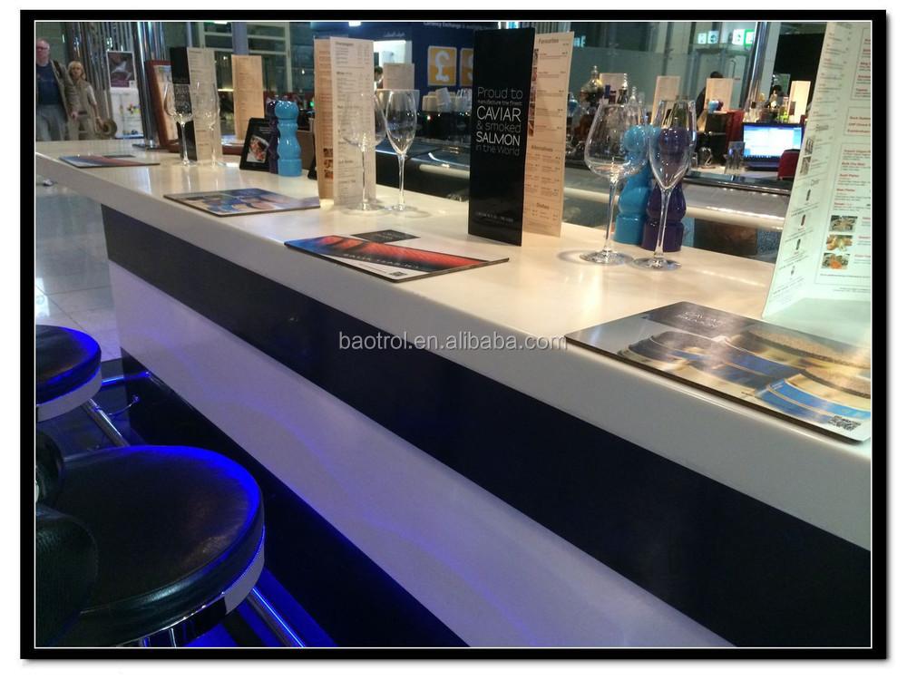 China manufacturer fast food bar counter design buy fast for Food bar manufacturers