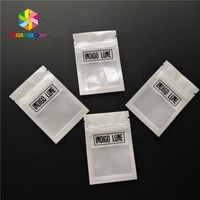 Grip seal custom printed mylar foil pouch packaging for flower/seed/candy heat seal ziplock bags