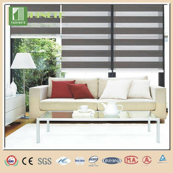 100 polyester roll up window shades zebra print blinds pull down window shades - Roll Up Shades