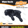 Car Windshield Wiper Washer Fluid Spray Nozzle Pair Set for Mazda MX-5